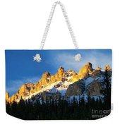 Gilded Ridge Weekender Tote Bag