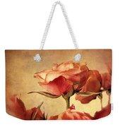 Gilded Roses Weekender Tote Bag