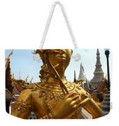 Gilded Statue Of A God At The Grand Weekender Tote Bag