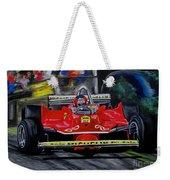 Gilles Villeneuve At The Limit Weekender Tote Bag