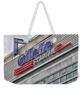 Gillette Stadium Sign Weekender Tote Bag