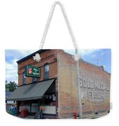 Gina's Pies Are Square Weekender Tote Bag by Mark Czerniec