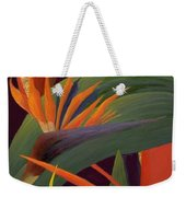 Ginger And Bird Of Paradise Weekender Tote Bag