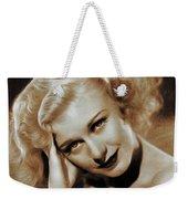 Ginger Rogers, Actress Weekender Tote Bag