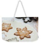 Gingerbread Making - Christmas Preparing With Vintage Kitchen Tools Weekender Tote Bag