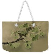 Gingko Branch Weekender Tote Bag