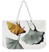 Ginkgo Leaves Weekender Tote Bag