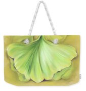 Ginkgo On The Cusp Of Autumn Weekender Tote Bag
