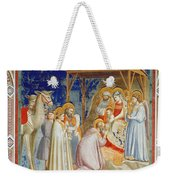 Giotto: Adoration Weekender Tote Bag by Granger