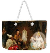 Giovanni Bellini In Mahomet II's Court Weekender Tote Bag