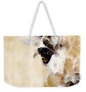 Giraffe Art - Side View Weekender Tote Bag