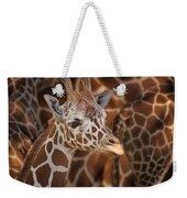 Giraffe - Camouflage Weekender Tote Bag