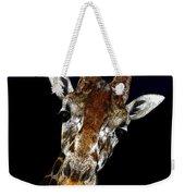 Giraffe Curiosity Weekender Tote Bag