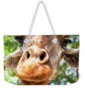 Giraffe Interest Weekender Tote Bag