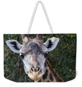 Giraffe Looking At You Weekender Tote Bag