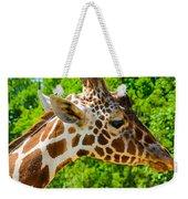 Giraffe Profile Weekender Tote Bag