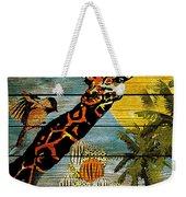 Giraffe Rustic Weekender Tote Bag