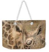 Giraffes, Big And Small Weekender Tote Bag