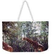 Giraffesgalore Weekender Tote Bag