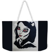 Girl After Midnight Weekender Tote Bag