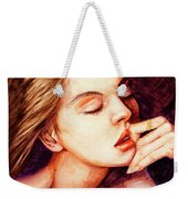 Girl And Dreams Weekender Tote Bag
