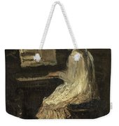 Girl At The Piano Weekender Tote Bag