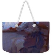 Girl At The Window 1885 Weekender Tote Bag