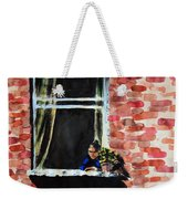 Girl At Window Weekender Tote Bag