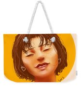 Girl From The Sun Weekender Tote Bag