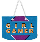 Girl Gamer Weekender Tote Bag