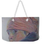 Girl In A Bandana Weekender Tote Bag