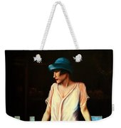 Girl In A Barn Weekender Tote Bag