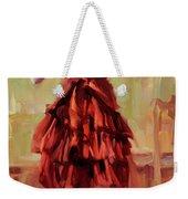 Girl In A Copper Dress IIi Weekender Tote Bag