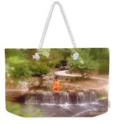 Girl In Orange Weekender Tote Bag
