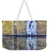 Girl In The Mural Weekender Tote Bag
