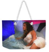 Girl In The Pool 1 Weekender Tote Bag