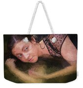 Girl In The Pool 13 Weekender Tote Bag