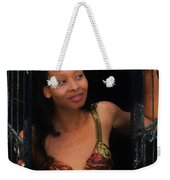 Girl In The Pool 19 Weekender Tote Bag