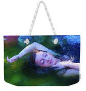 Girl In The Pool 20 Weekender Tote Bag