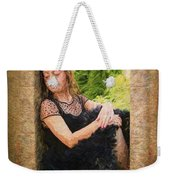 Girl In The Pool 21 Weekender Tote Bag