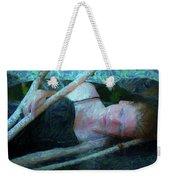 Girl In The Pool 23 Weekender Tote Bag