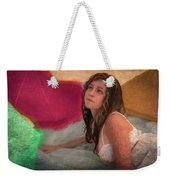 Girl In The Pool 4 Weekender Tote Bag