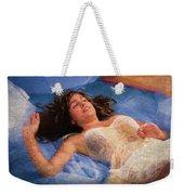 Girl In The Pool 5 Weekender Tote Bag