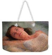 Girl In The Pool 8 Weekender Tote Bag