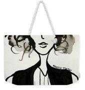 Girl In Vest Weekender Tote Bag