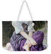 Girl Weekender Tote Bag