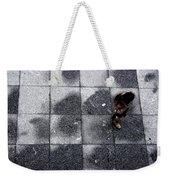 Girl On A Grid Weekender Tote Bag
