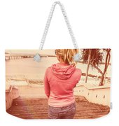 Girl On Redcliffe Travel Holiday Weekender Tote Bag