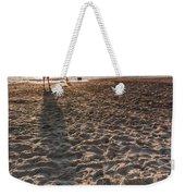 Girl On The Beach Weekender Tote Bag