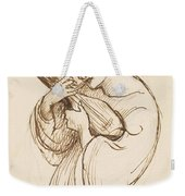 Girl With A Musical Instrument Weekender Tote Bag